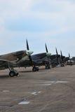 De vliegtuigen van de vechter Royalty-vrije Stock Afbeelding
