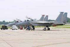 De vliegtuigen van de vechter Royalty-vrije Stock Foto's