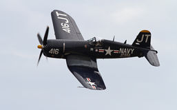 De Vliegtuigen van de Vechter van de Zeerover van de Wereldoorlog II Stock Foto's