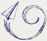 De vliegtuigen van het document Royalty-vrije Stock Fotografie