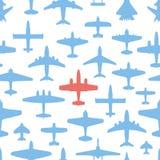 De vliegtuigen van het vervoer en van de marine Stock Foto