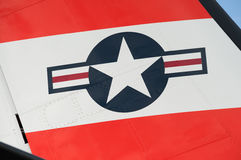De vliegtuigeninsignes van de V.S. stock foto's