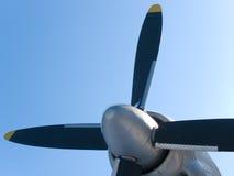 De vliegtuigschroef Royalty-vrije Stock Foto's