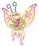 De Vlinder van de baby Stock Foto