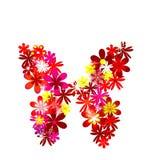 De vlinder van de bloem Stock Illustratie