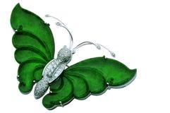 De Vlinder van de jade Royalty-vrije Stock Afbeelding
