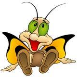 De Vlinder van de zitting Royalty-vrije Stock Afbeelding
