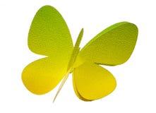 De vlinder van het document royalty-vrije stock foto