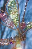 De vlinder van het glas Stock Afbeeldingen