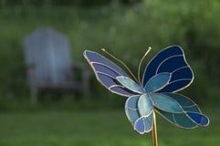 De Vlinder van het Glas van de vlek Royalty-vrije Stock Fotografie