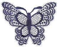 De vlinder van het kant Royalty-vrije Stock Foto's