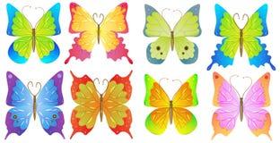 De vlinder van Nice Stock Afbeeldingen