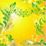 De vlinders van Enamoured Royalty-vrije Stock Afbeelding