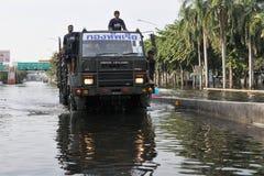 De Vloed van Bangkok Royalty-vrije Stock Foto