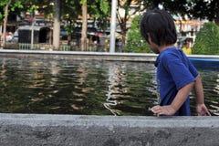 De Vloed van Bangkok Royalty-vrije Stock Afbeelding