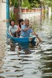 De vloed 2011 van Bangkok Royalty-vrije Stock Afbeelding
