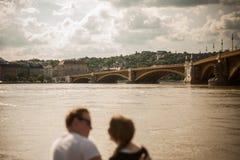 De vloed van Boedapest Royalty-vrije Stock Afbeelding