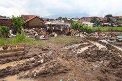 De Vloed van de de Rampenflits van Indonesië - Garut 027 royalty-vrije stock afbeelding