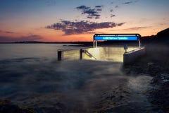 De vloed van de metro royalty-vrije stock foto's