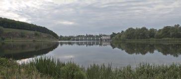 De vloed van de rivier Stock Fotografie