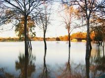 De Vloed van het water Stock Afbeeldingen