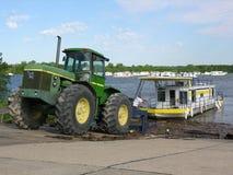 De Vloed van Iowa van 2008 Stock Afbeelding