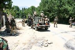De vloed van Pakistan en Buner-Beoordeling stock foto's