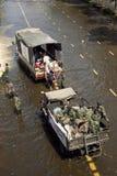 De vloed van Thailand Royalty-vrije Stock Foto