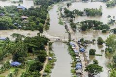 De vloed van Thailand royalty-vrije stock afbeelding