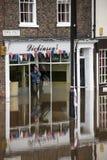De Vloed van York - Sept.2012 - het UK Royalty-vrije Stock Foto's