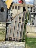 De vloedbarrière van Theems Royalty-vrije Stock Fotografie