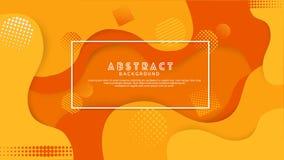 De vloeibare abstracte achtergrond van de gradatiekleur Futuristisch en elegant ontwerp vector illustratie