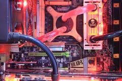 de vloeibare chassis van 2013ChinaJoy XSPC Stock Foto's