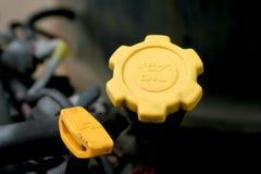 De vloeistof van de motor vult kappen Royalty-vrije Stock Afbeelding
