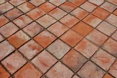 De Vloer van de baksteen Royalty-vrije Stock Foto's