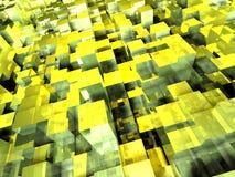 De Vloer van de kubus royalty-vrije illustratie