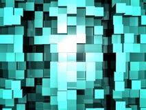 De Vloer van de kubus stock illustratie