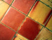 De Vloer van de tegel Stock Afbeeldingen