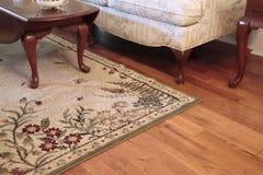 De vloer van de woonkamer Stock Foto's