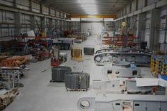 De Vloer van de workshop Stock Afbeeldingen