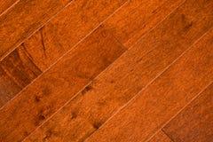 De vloer van het hardhout Stock Afbeeldingen