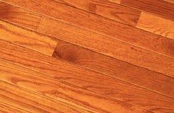 De vloer van het hardhout Stock Foto