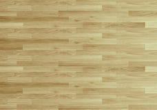 De vloer van het het basketbalhof van de hardhoutesdoorn hierboven wordt bekeken die van Royalty-vrije Stock Foto's
