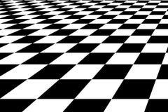 De vloer van het schaak Stock Foto's