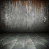 De vloer van het staal Royalty-vrije Stock Foto's