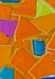 De vloer wordt gemaakt van tegels Royalty-vrije Stock Foto's