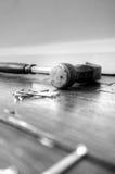 De vloerplank C van de hamerspijker Royalty-vrije Stock Foto's
