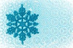 De vlok van de sneeuw Stock Afbeelding