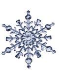 De vlok van de sneeuw Stock Fotografie