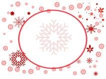 De vlok van de sneeuw Royalty-vrije Stock Afbeelding